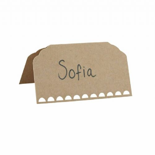 Kraft Place Cards 10pk